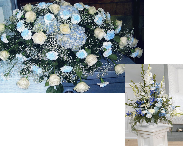 Blue & White Package
